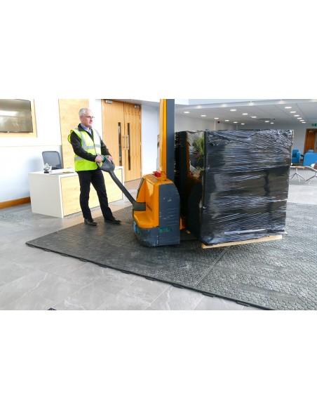 plaque de protection et d'accès temporaire  pack qso2 eco responsable et recyclable