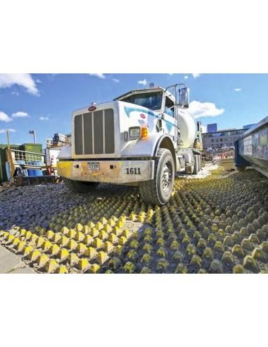 Plaque Mudstopper Anti Boueplaque de voirie décrotteur de roue chantier nettoyeur de roue agriculture sylviculture BTP