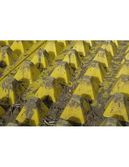 plaque de voirie décrotteur de roue chantier nettoyeur de roue agriculture sylviculture BTP produit recyclable ♻
