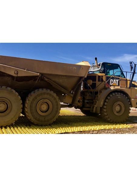 plaque de voirie décrotteur de roue chantier nettoyeur de roue agriculture sylviculture BTP